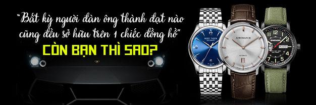 đồng hồ cho người đàn ông thành đạt