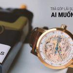 Hình thức mua đồng hồ trả góp tại Alowatch