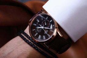 Thay dây da đồng hồ Orient