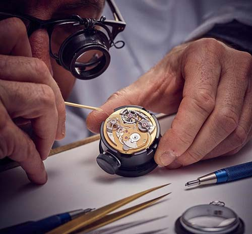 học sửa đồng hồ