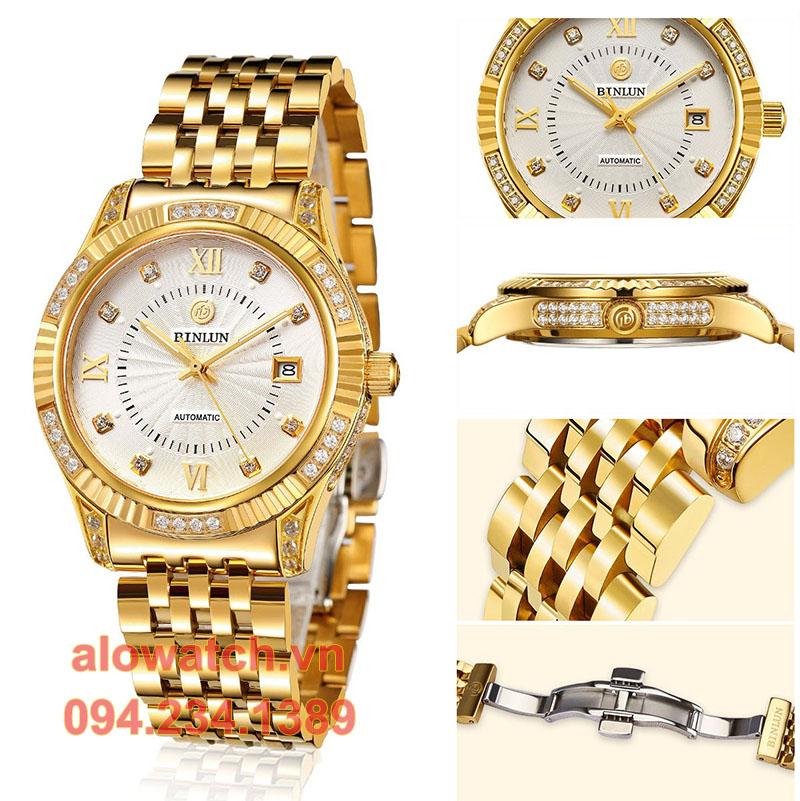 Mạ vàng đồng hồ Binlun