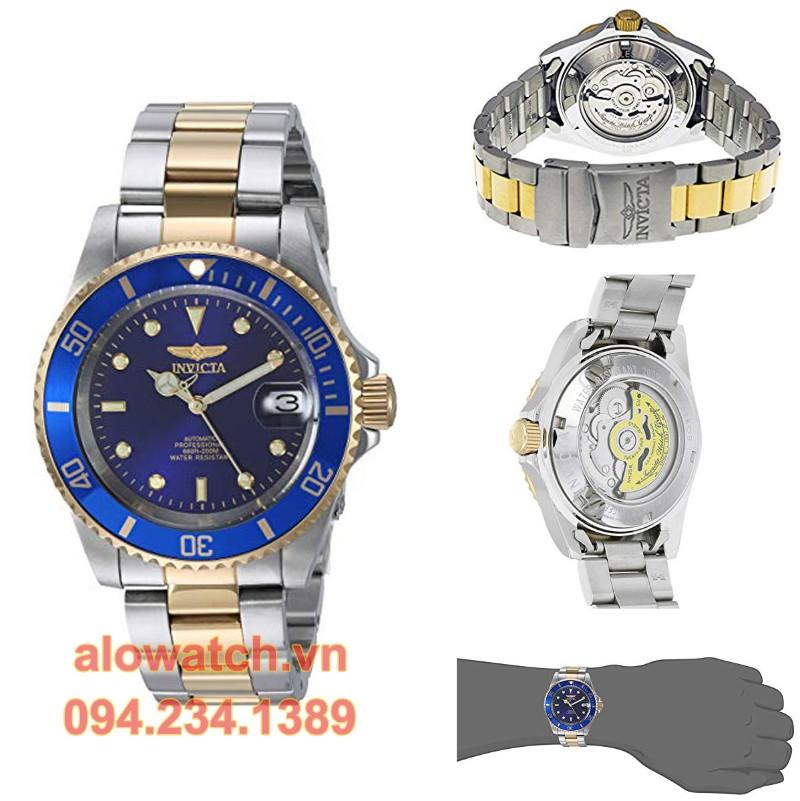 Mạ vàng đồng hồ Invicta 8928ob