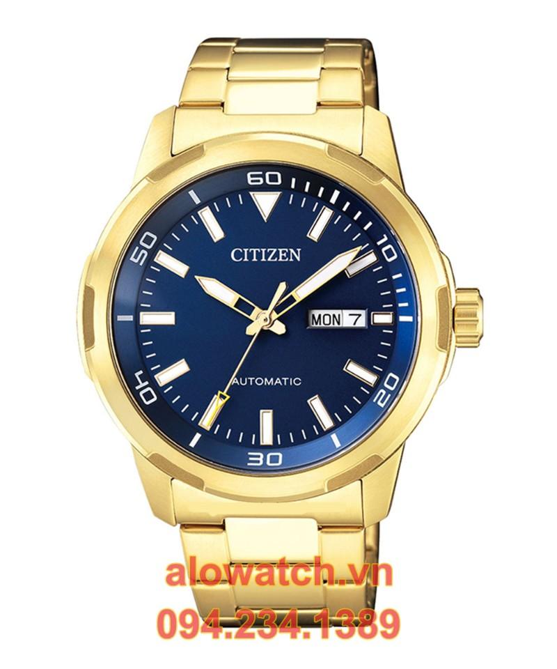 Mạ vàng đồng hồ Citizen