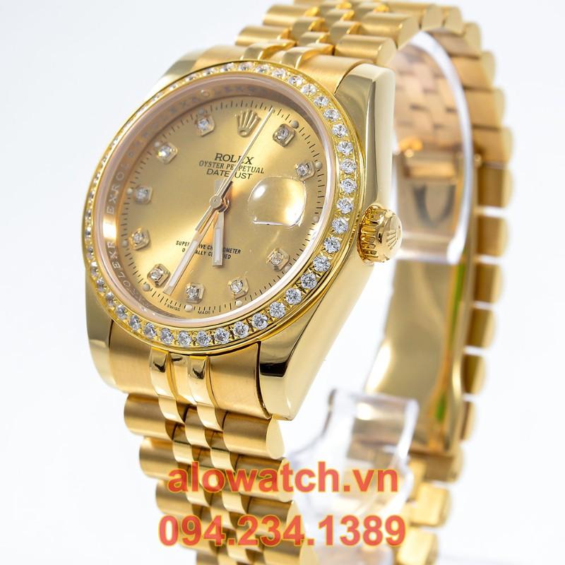 Mạ vàng đồng hồ Rolex