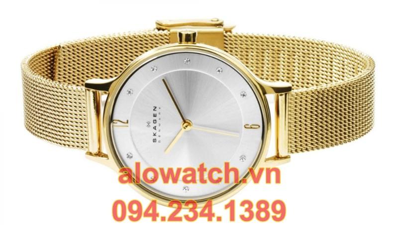 Mạ vàng đồng hồ Skagen