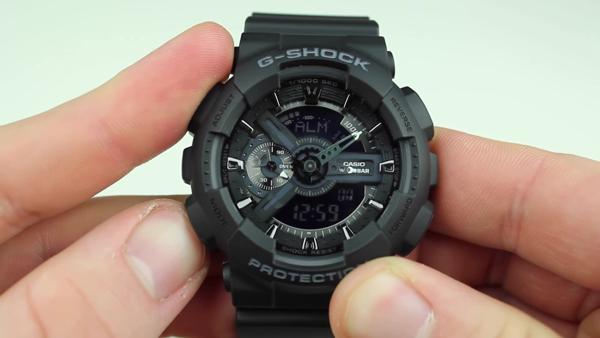 Cách chỉnh giờ báo thức đồng hồ G-Shock