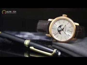 Đồng hồ Aerowatch Thụy Sĩ 08937 RO01 - Lịch tuần trăng moonphase